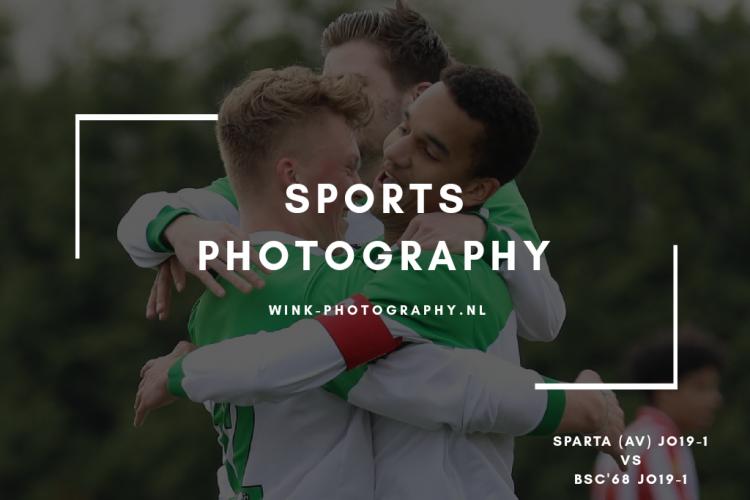 2019-04-06 Sportshoot Sparta (AV) JO19-1 – BSC'68 JO19-1